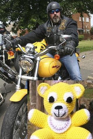 Harley Biker by Destinys Agent and Sunny yellow Baby Bear by Mountain Side