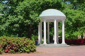 Old Well on UNC Campus by Skibler