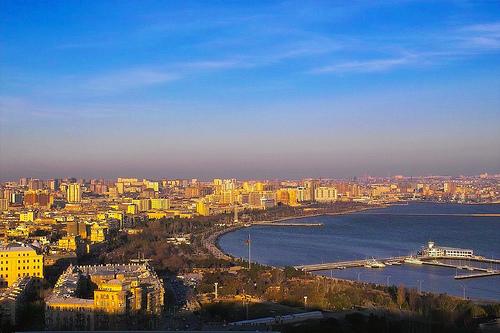 Baku, Azerbaijan by Teuchterlad